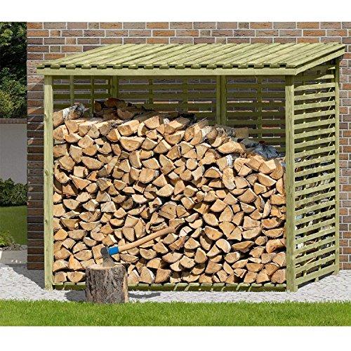 Xxl Brennholzregal Mit Ruckwand Fur 4 5 M Holz Kaminholzregal Profi